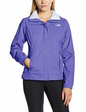 The North Face Womens Resolve WaterProof Jacket Starry Purple Size-Large