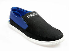Vedano Navy Walking Casual Slip On Canvas shoes CASA010