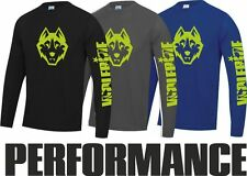 Wolf logo Long Sleeve Mountain Bike Top / jersey / t-shirt / wicking