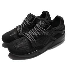 Puma Blaze Black Trinomic Suede Mens Casual Shoes Sneakers Trainers 362510-01