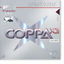 Donic Coppa X3 Silver 1,8/2,0/Max mm  Schw/Rot