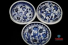 Turkish HandMade Ceramic Bowl Kutahya Gift 16 cm