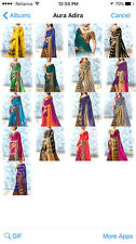 New Designer Sari Indian Saree Fabric Pure Cotten Silk Party wear Saree Blouse