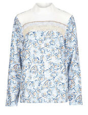 M&S Limited Edition 70's style Panelled Blouse BNWT