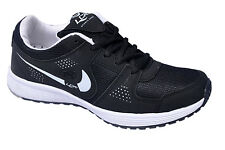 Lancer Brand Mens Black White Sports Shoes Malaysia-17