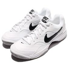 Nike Court Lite White Black Mens Tennis Shoes Sneakers Trainers 845021-100