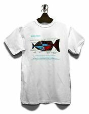 Babelfisch T-Shirt Durch Die Galaxis Science Fiction Per Anhalter  Nerd Geek
