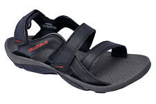 Columbus Brand Mens Black Red Sports Sandal - Flamingo