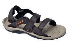Columbus Brand Mens Brown Orange Sports Sandal - Flamingo