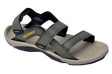 Columbus Brand Mens Olive Yellow Sports Sandal - Flamingo