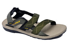 Columbus Brand Mens Khakhi Yellow Sports Sandal - Organ