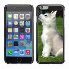 Hard Phone Case Cover Skin For Apple iPhone White puppy learns comma