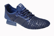 Calcetto Brand Mens Navy,White Sports Shoes 7551