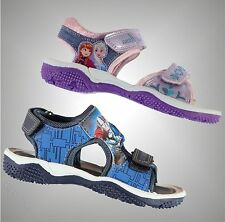 Infants Boys Girls Branded Character Motif Summer Beach Sandal Shoes Size C6-2