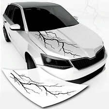Autoaufkleber *Blitz* Sticker Car Design Motiv Natur Autotattoo Lightning