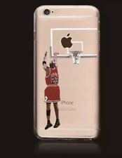 COVER CASE CUSTODIA IPHONE 7 7S PLUS CHICAGO BULLS MICHEAL JORDAN NBA BASKET 23