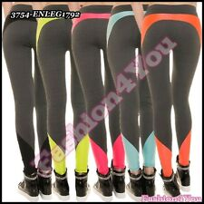 Sexy Ladies Leggings Women's Fitness Casual Jogging Pants One Size 6,8,10,12 UK