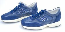 HOGAN JUNIOR NEW INTERACTIVE SCARPA SNEAKER BAMBINA ART. HXC00N0324239VU819