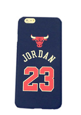 COVER CASE CUSTODIA IPHONE 6 6S PLUS CHICAGO BULLS MICHEAL JORDAN NBA BASKET 23