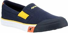 Sparx Brand Mens Navy Blue Yellow Casual Canvas Slipons Sneakers Shoes 292