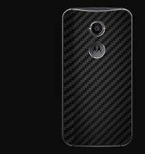 dbrand Moto X (2013 & 2014) black carbon fiber skin sticker for back only