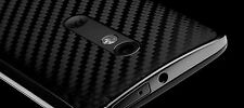 dbrand Moto X Play black carbon fiber skin sticker for back only