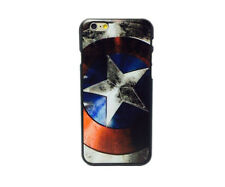 "COVER CUSTODIA CASE IPHONE 7 7s 4,7"" PLUS 5.5"" CAPITAN AMERICA MARVEL AVENGERS"