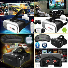 3D VR Box V2.0/4.0 Virtual Reality Glasses Goggles Helmet Headset Remote Control