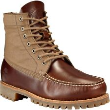 TIMBERLAND MENS AUTHENTIC RUGGED HAND SEWN CHUKKA BOOTS TB0A13UF214 BROWN U