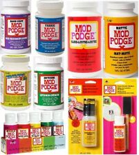Mod Podge Decoupage Adhesive Glue Sealer Matte Gloss Finish Hard Coat