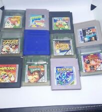 JUEGOS GAME BOY / COLOR NINTENDO POKEMON AZUL WARIOLAND DONKEY KONG GBC