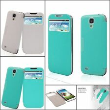 Baseus Window Design Smart Leather Battery Flip Cover for Samsung Galaxy S4