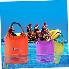 Outdoor Waterproof Camping Rafting Storage Dry Bag with Ajustable Strap Hook #A