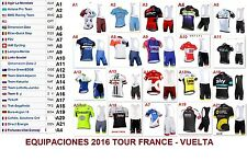 Tour de France short sleeve cycling jersey bib shorts MTB set clothes bike