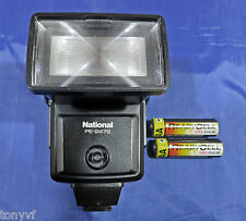 National PE-247S Computer Electronic Flash Unit / Camera Flash Gun | See Video