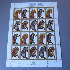 Carousel Horses – US Postage Stamps Sheet 1994 USPS