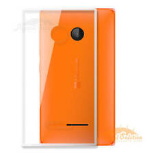 Transparent Silicon Soft Back TPU Cover for Microsoft Nokia Lumia 532