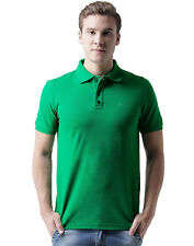 Polo Nation Men's Light Green Cotton Polo Tshirt