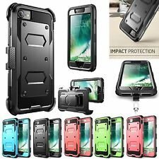 For Apple Iphone 7 / 7 Plus Case Shockproof Rugged Hard Rubber Kickstand Co