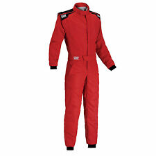 TUTA IGNIFUGA RALLY ROSSO OMP RACING FIRST-S SUIT 2017 IA01828B FIA 8856-2000
