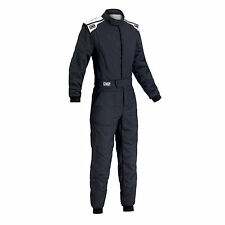 TUTA IGNIFUGA RALLY NERO OMP RACING FIRST-S SUIT 2017 IA01828B FIA 8856-2000