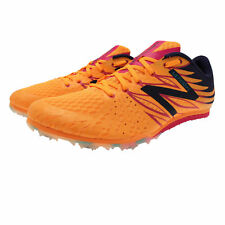 New Balance MD500v4 Middle Distance Womens Orange Running Track Shoes Spikes
