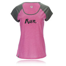 Zoot Sunset Ink Womens Pink Grey Short Sleeve Scoop Neck Running T Shirt Tee Top