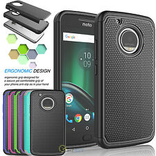 Shockproof Hybrid Rugged Rubber Hard Case Cover For Moto X 4th Gen/Moto X 2