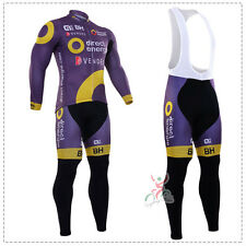 Ropa ciclismo entretiempo: Direct Energy 2017 maillot cycling otoño pants jersey