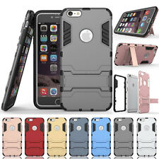 Hybrid Rugged Shockproof Armor Kickstand Protector Case For iPhone 5 SE 6 S