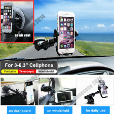 360° Universal Car Windshield Air Vent Cell Phone GPS Mount Holder Stand C