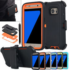 NEW Shockproof Hard Case & Belt Clip Holster for Samsung Galaxy S7/S7 Edge