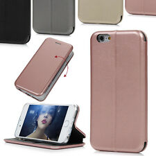 Ultra Thin Luxury Flip Leather Cover Wallet Smart Stand Case For iPhone 6 7