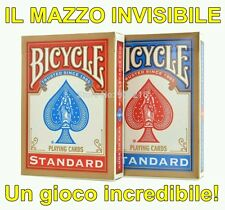 MAZZO INVISIBILE Bicycle Invisible Deck +VIDEO Giochi di prestigio Magia Carte